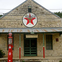 Texaco & Post Office in Driftwood