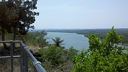 Scenic Overlook on RR-1431 - Lake LBJ Looking South-East