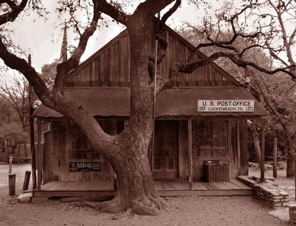 Luckenbach Historic Post Office