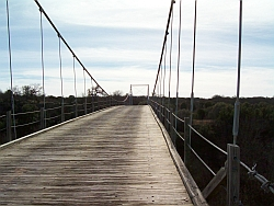 Regency Suspension Bridge-Looking North