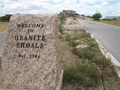 Welecome To Granite Shoals